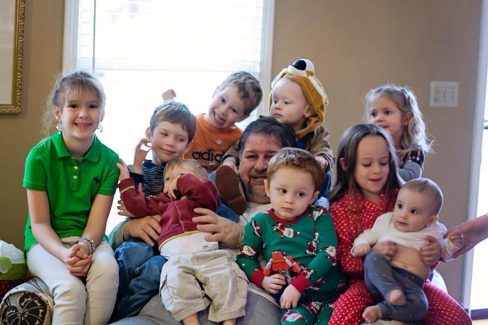 Hanging with the Grandkidz - Christmas 2012
