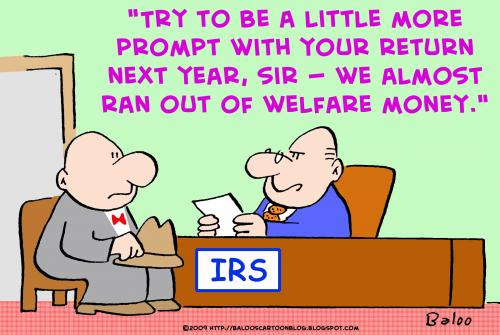 Welfare money